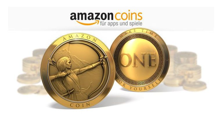 Ein Amazon Coin entspricht einem Euro-Cent.