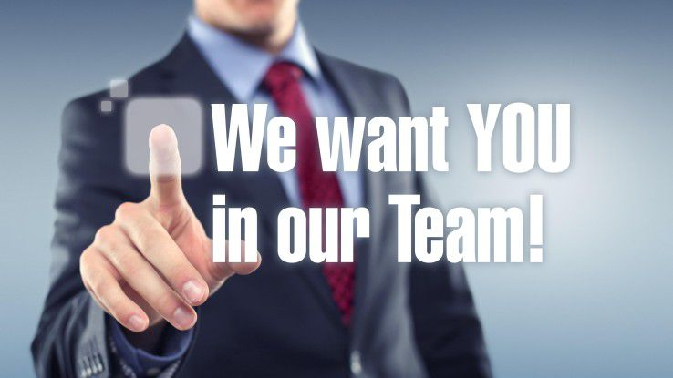 Dringend gesucht: gute Leute für wenig spannende Jobs.