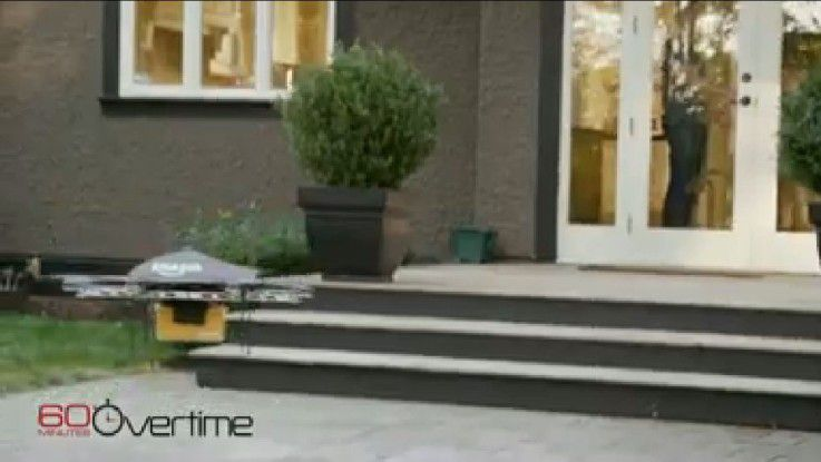 Zustell-Drohne: Amazon Prime Air