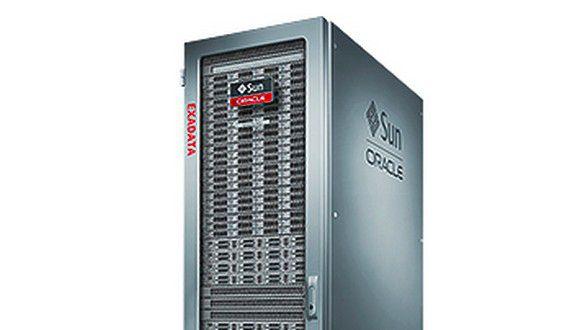 Die hochintegrierten Engineered Systems - hier eine Exadata-Maschine - verkaufen sich laut Oracle mittlerweile besser.