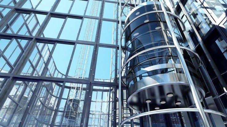 Der Elevator-Pitch: Im Idealfall dauert der Einstieg in eine überzeugende Präsentation nur so lange wie eine Fahrstuhlfahrt.