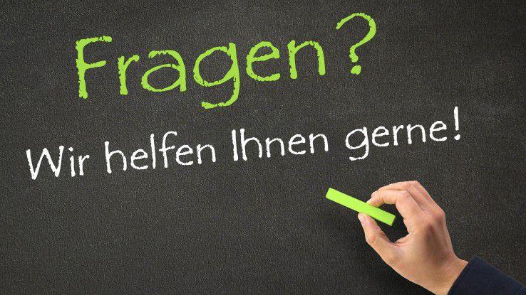 Im Online-Karriere-Ratgeber können Leser Fragen stellen und Personalexperten antworten.