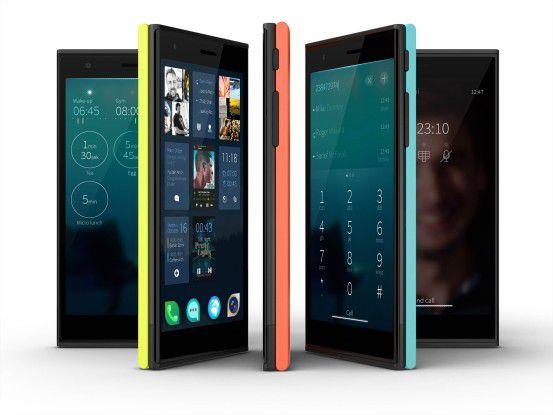 Das Jolla Smartphone mit Sailfish OS