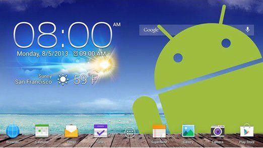Android 4 im Unternehmen.