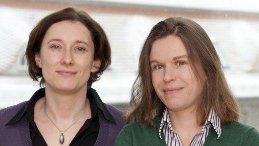 Führung funktioniert in Teilzeit sehr wohl. Patricia Rezic (l.) mit einer Kollegin.