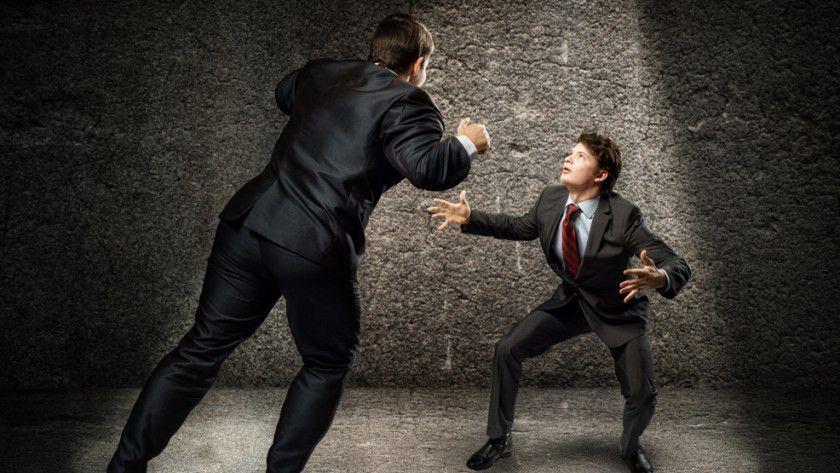 Wenn sich zwei Mitarbeiter streiten, dann liegt ihnen die Sache am Herzen.