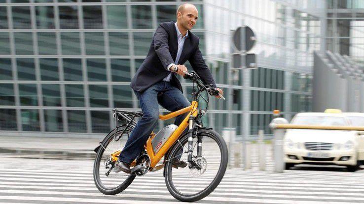 Radfahren macht Spaß und ist gut für die Gesundheit. Warum sich dabei nicht vom Arbeitgeber unterstützen lassen?