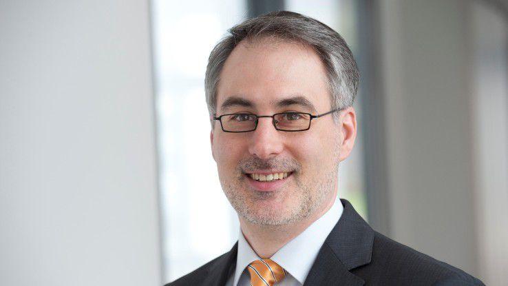Richard Nagorny von Werum sieht das Dienstfahrrad als probates Mittel, um junge Bewerber auf sein Unternehmen aufmerksam zu machen.