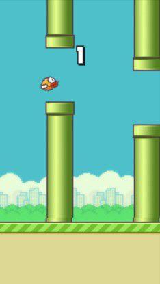 Sieht einfach aus, ist aber sauschwer zu steuern: Flappy Bird