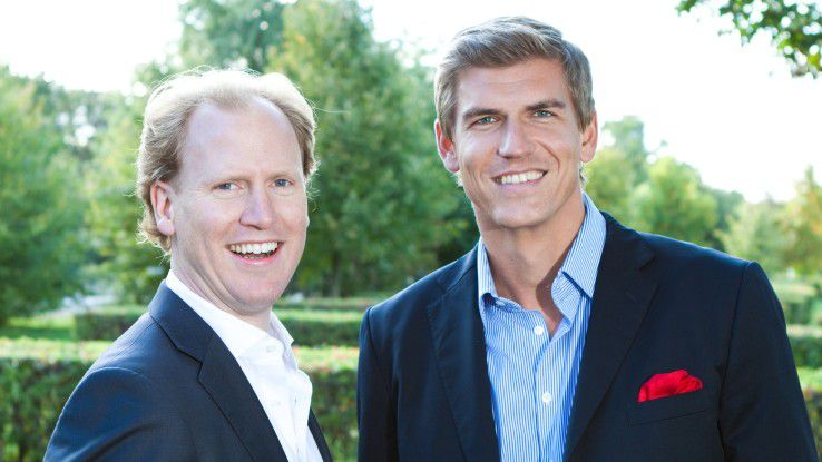 Die Reaktorkatastrophe von Fukushima brachte Philipp Pausder (links) und Florian Tetzlaff auf die Idee der Firmengründung.