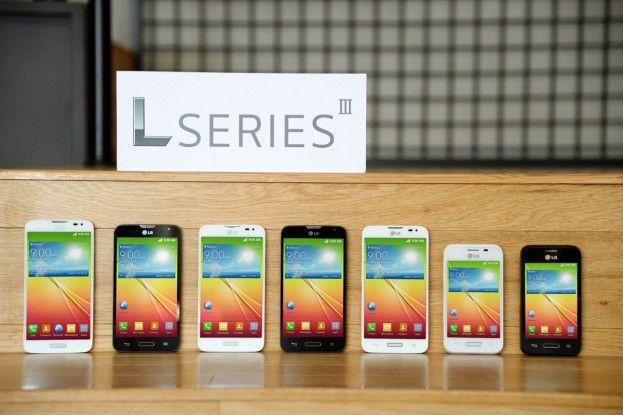 LG stellt die drei neue Mittelklasse-Androiden L40, L70 und L90 vor