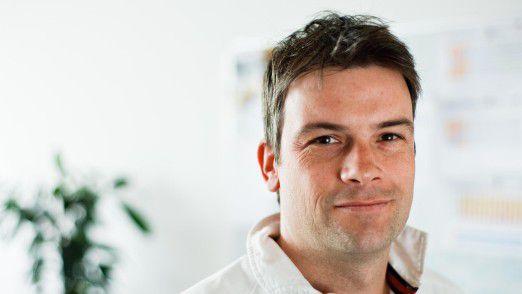 """Joachim Gmeinwieser, Scout24: """"Im ersten Jahr nach der Einführung von Scrum stieg die Entwicklungsgeschwindigkeit um 200 Prozent."""""""