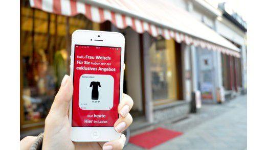 Dem Kunden ein Angebot machen, noch bevor er überhaupt den Laden betreten hat. Der Einsatz von Beacons macht es möglich.