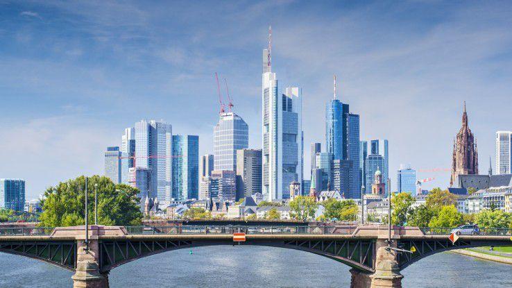 Im Finanzsektor wie hier in Frankfurt haben IT-Freelancer mit entsprechendem Know-how gute Aussichten.