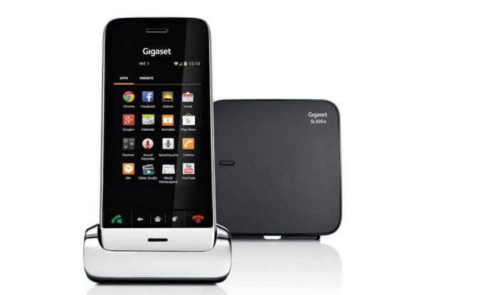Mit dem Gigaset SL930A setzt die Company bereits auf Android, allerdings in einem Festnetztelefon.