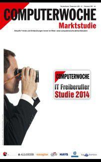 Die IT-Freiberuflerstudie 2014 ist ab sofort im Web-Shop der COMPUTERWOCHE erhältlich.
