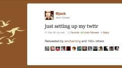 just setting up my twttr - Foto: Jack Dorsey, Twitter