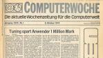 Die COMPUTERWOCHE blickt zurück: Die Highlights aus 40 Jahren IT