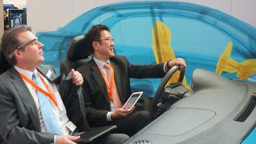 Accenture präsentierte auf dem MWC seine Vorstellungen und Erwartungen rund um das Thema Connected Car.