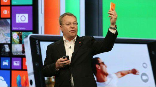 Ein Satz mit Nokia X - das war wohl nix, sagt Herr Elop.