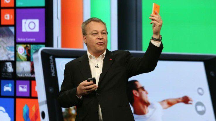 Microsoft-Manager Stephen Elop ist vom Abschneiden von Windows Phone in Deutschland enttäuscht.