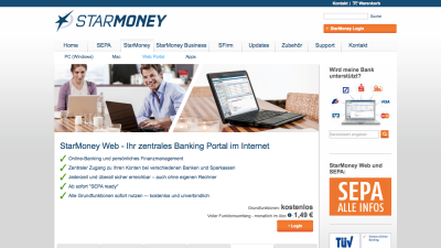 Online-Banking: StarMoney Web - Persönliches Finanzmanagement im Browser - Foto: Diego Wyllie