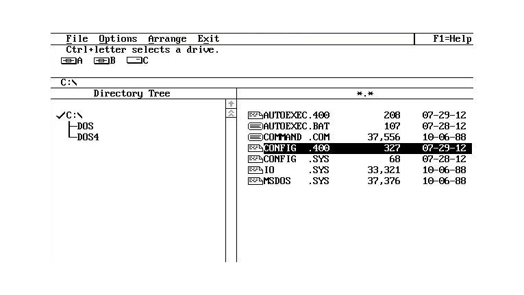 Die grafische Erweiterung der Shell unter MS-DOS 4.x konnte nicht so sehr überzeugen, dass das Produkt ein Erfolg wurde.