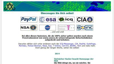 """Codebreakers and Codemakers"": Deutscher Hacker knackt Webseite der NSA"
