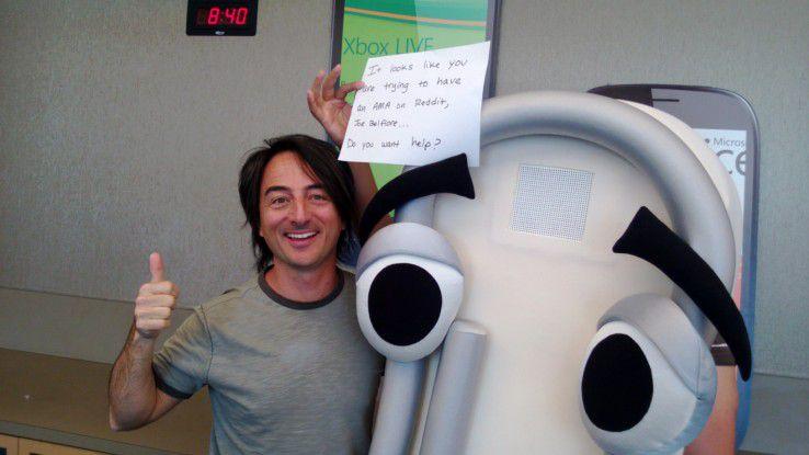Windows-Phone-Verantwortlicher Joe Belfiore stellte sich den Fragen der Reddit-Nutzer.
