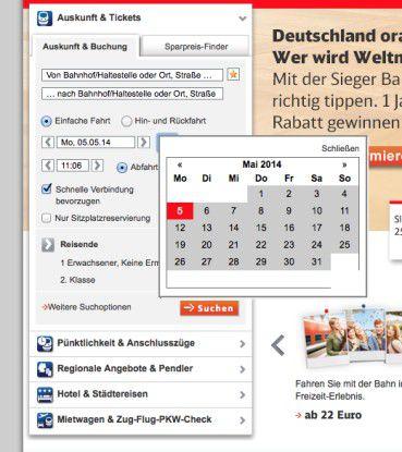 Einen Kalender sollte man nicht mit Pop-up-Menüs entfremden, sondern so anbieten wie ihn der User haben möchte: als Kalender.
