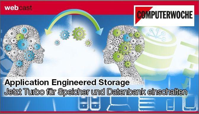 Traditionelle Ansätze zur Integration von Storage und Datenbank weichen vorintegrierten Speicherkonzepten.