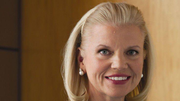 CEO Ginni Rometty will IBM profitabler machen - da stört die Halbleiterfertigung nur.