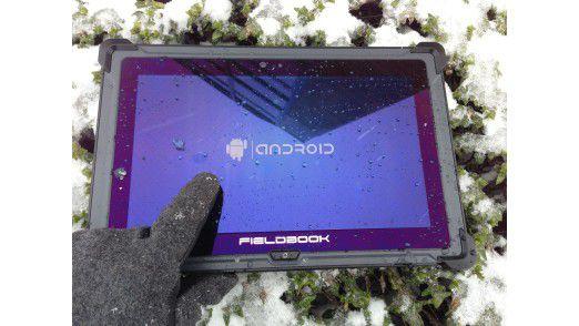 Mit entsprechender IP- und MIL-Spezifikation funktionieren Tablets & Co. auch in rauher Umgebung.