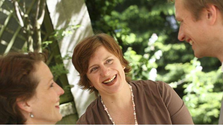 """Karin Probst, Business Coach: """"IT-ler sind häufig Trouble-Shooter."""" Dadurch ist diese Berufsgruppe nach ihren Erfahrungen besonders stark gestresst."""