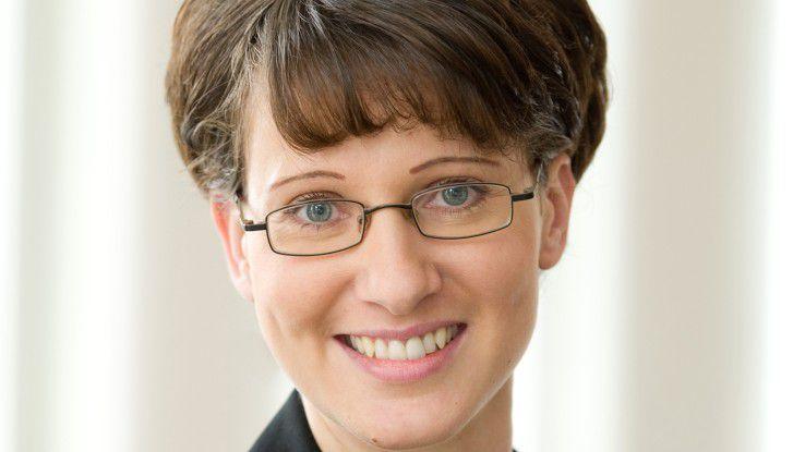 Katrin Erdo?rul ist Personal-Managerin bei Innobis in Hamburg.