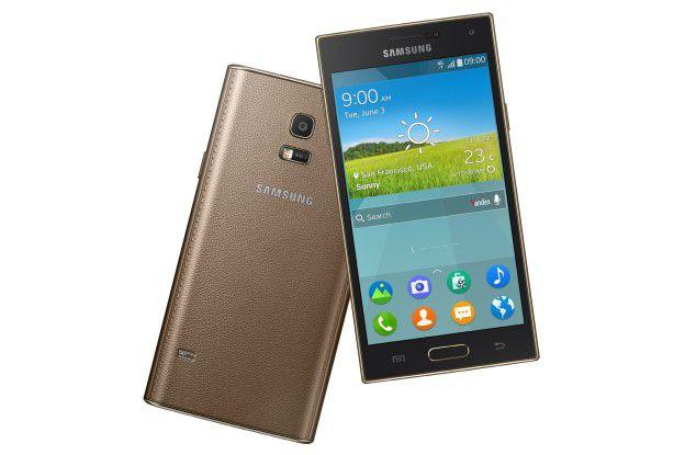 Das Samsung Z mit Tizen-Betriebssystem