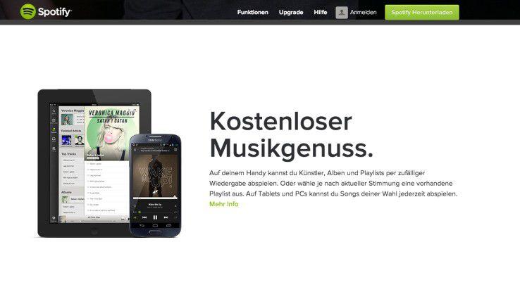 Die Spotify-App sieht auf iOS und Android auf den ersten Blick gleich aus, bietet aber kleine und feine, plattformspezifische Unterschiede.