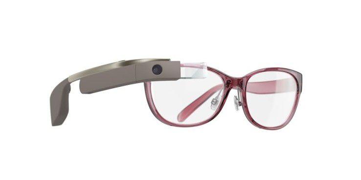 Google Glass Modell DVF