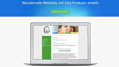 Web-Design: Zeta Producer – Desktop-CMS für Windows - Foto: Diego Wyllie