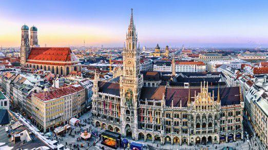 Im Münchner Rathaus altern angeblich die LiMux-Laptops ungenutzt vor sich hin.