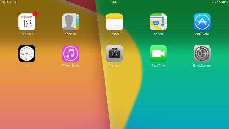 Mit iOS 9 stehen beim Design nur kleinere Änderungen bevor.