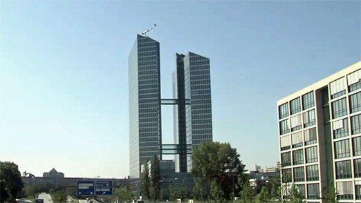 Der Hauptsitz von Roland Berger: HighLight Towers in München
