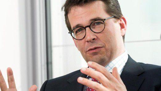 Dirk Heiss verantwortet die IT-Infrastruktur und ihren Betrieb bei der Munich Re.