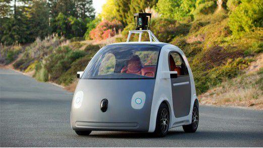 150 solche Google-Autos werden für Testzwecke gebaut.