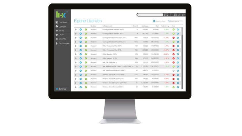 Auf li-x.com können Unternehmen ihre nicht mehr benötigten Softwarelizenzen verkaufen sowie gebrauchte Software einkaufen.