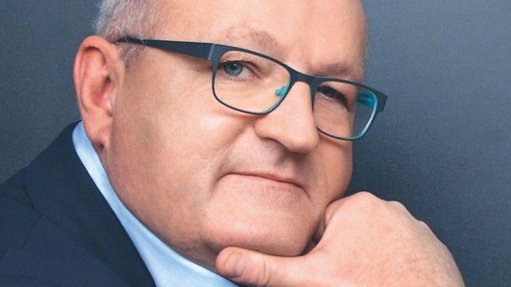 Ulrich Dietz, Vizepräsident des Industrieverbands BITKOM und Vorstandsvorsitzender der GFT Technologies AG
