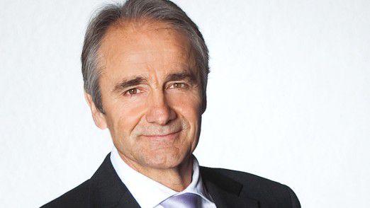 Karl-Heinz Streibich geht im Sommer 2018 in den Ruhestand.