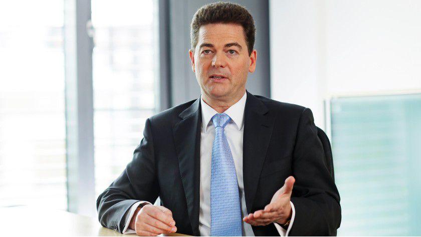 Martin Vesterling von der gleichnamigen Personalberatung möchte angehenden Informatikern die Vorzüge mittelständischer Unternehmen schmackhaft machen.