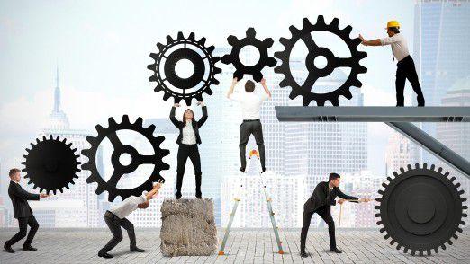Enterprise Architects haben vor allem die Aufgabe, die Rollenverteilung zwischen den Akteuren neu zu justieren und zu erklären.