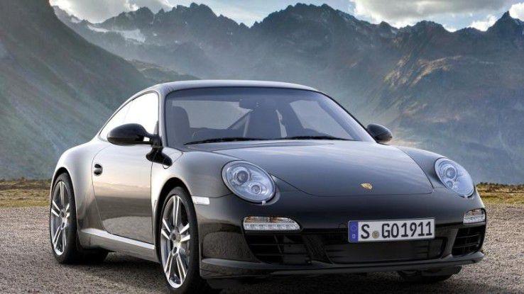 Ein Porsche als Dienstwagen? Am größten sind Ihre Chancen, wenn Sie Spitzenverdiener in Nordrhein-Westfalen sind.